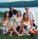 A beautiful family on the shore at our Harpswell studio.